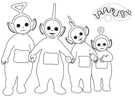 Teletubbies Coloring Pages by Free Printable Teletubbies Coloring Pages