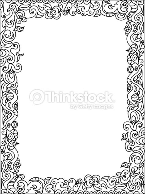 cornici diplomi da stare frame zentangle arte vetorial thinkstock