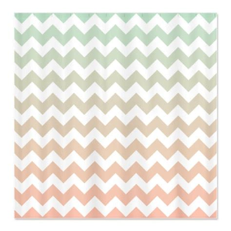 light pink chevron curtains mint and light pink custom ombre chevron by
