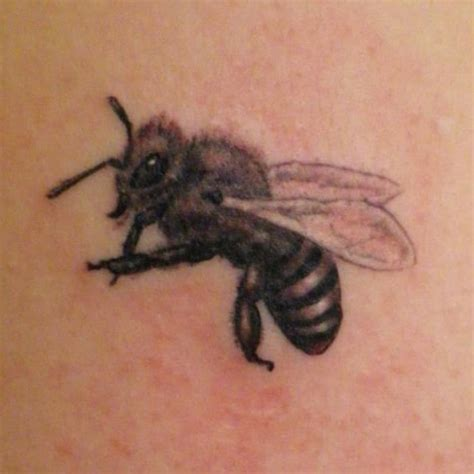 hungarian bee tattoo by ny 250 l ontool