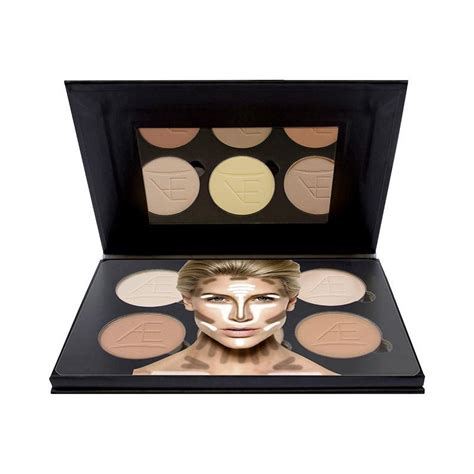 Aeathetica Contour Kit Powder 1 aesthetica cosmetics contour and highlighting powder