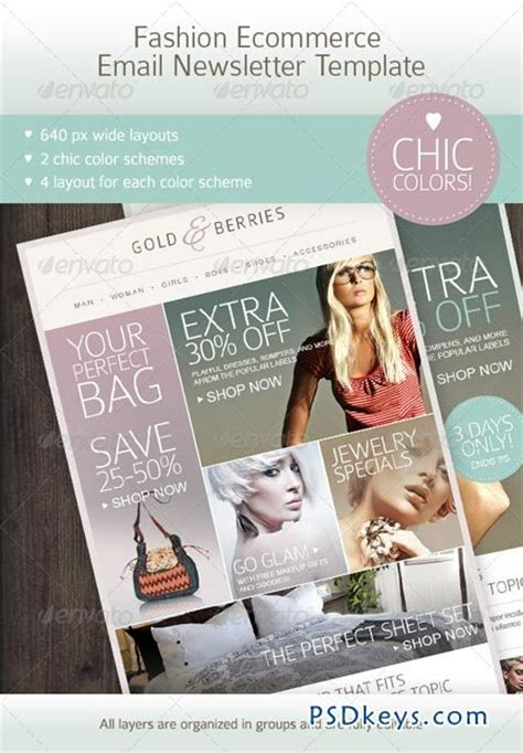 ecommerce email template fashion ecommerce email newsletter template 2627274 187 free