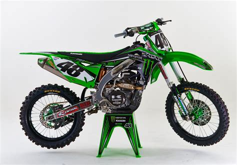 monster energy motocross first look monster energy kawasaki 2015 transworld