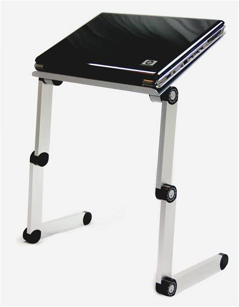 ipad bed stand 1 silver aluminum folding macbook laptop notebook ipad
