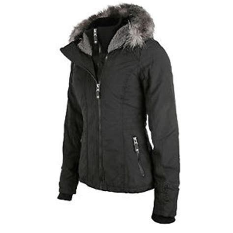 bench womens winter jackets bench kidder ii jacket women s winter jacket black new