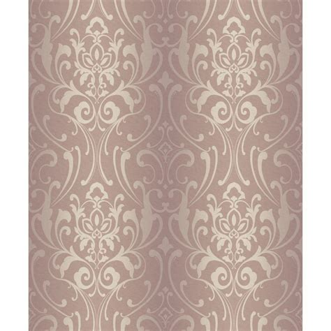 glam wallpaper york wallcoverings glam damask wallpaper y6150506 the home depot