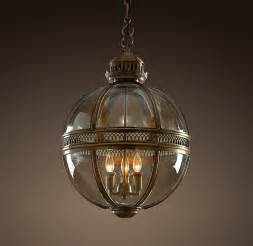 restoration hardware light fixtures restoration hardware hotel pendant brass