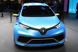 renault zoe e sport muscles up with 460bhp ev hyper hatch by car magazine