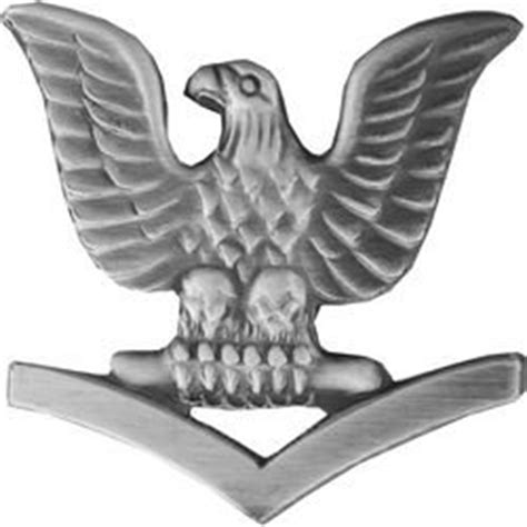 Petty Officer 3rd Class by Petty Officer 3rd Class Left Lapel Pin Or