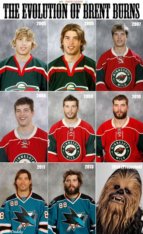 the evolution of brent burns ofhl hq
