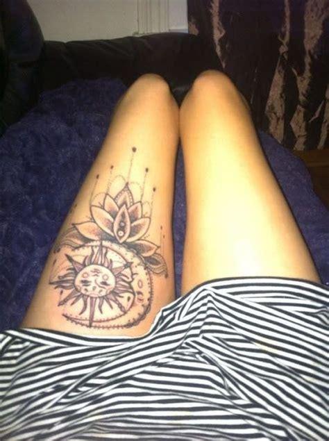 tattoo of the sun chords dripping lotus stunning sun and moon tattoo ideas livingly