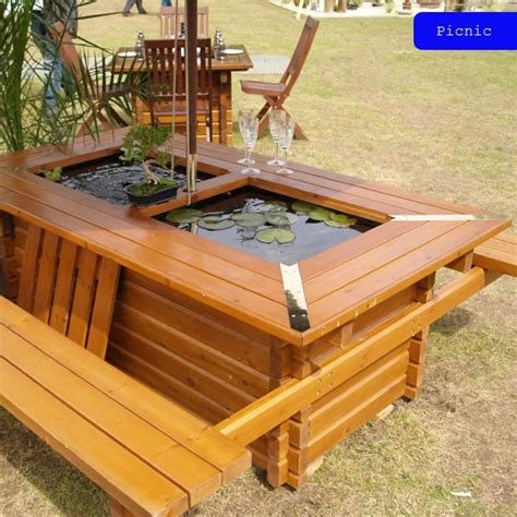 Gardening Table by Pondable Garden Table Drinkstuff