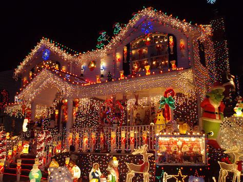 beautiful christmas house lights places image