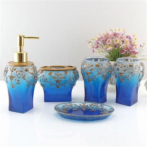 royal blue bathroom accessories aliexpress buy blue royal bathroom
