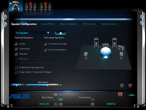 asus realtek audio driver windows 7 realtek high definition audio manager