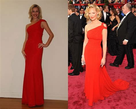 Fab Flash Select Oscar Dresses Already Being Reproduced by Cachet Dresses