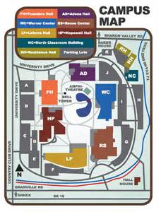 Ohio State Campus Map by Map To Warner Library Central Ohio Technical College