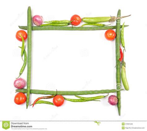 Cadre De Légumes Images libres de droits   Image: 37661549