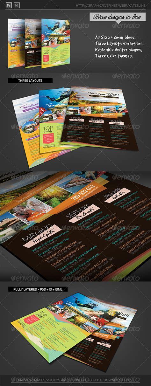 Free Tourism Flyer Indesign 187 Dondrup Com Indesign Event Flyer Templates