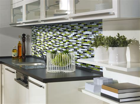 backsplash tile for kitchen peel and stick how to install peel and stick tiles in a kitchen