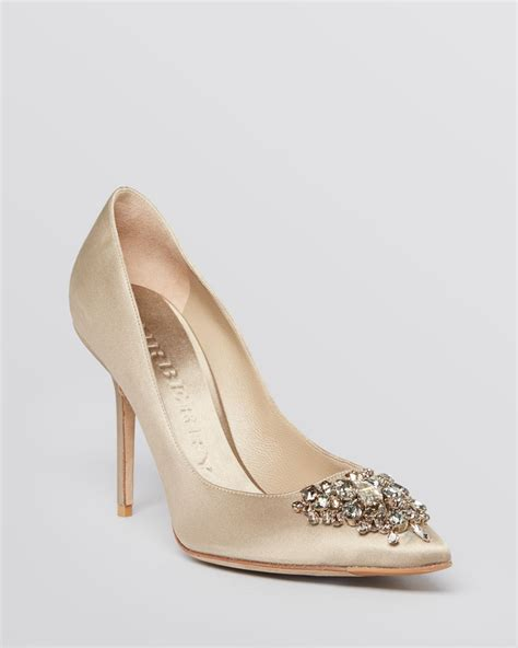 burberry high heels lyst burberry pointed toe evening pumps ormelie high