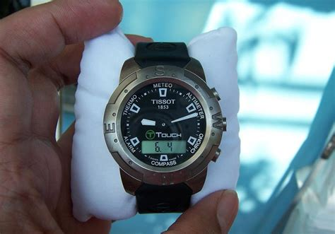 Jam Tangan Tissot Kuno jam tangan kuno for sale tissot t touch titanium sold