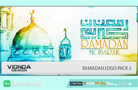 Videohive 2 After Effect Template ramadan logo pack 2 videohive project free free after effects template