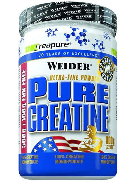 creatine organic creatine powder 600g weider nutrition