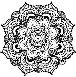 mandala tattoo coloring page amazon com henna style fashion water transfer temporary