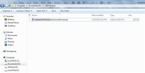 Office 365 Outlook Pst How To Backup Office 365 Mailbox To Outlook Pst