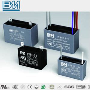capacitor cbb61 cqc china cbb61 motor capacitor with ul vde cqc certificate china fan capacitor capacitor