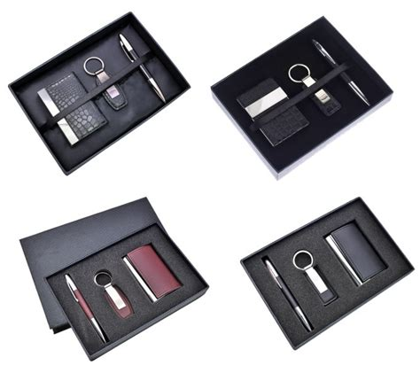 Office Giveaway Ideas - unique business ideas giveaways pu leather card holder key chain pen office premium