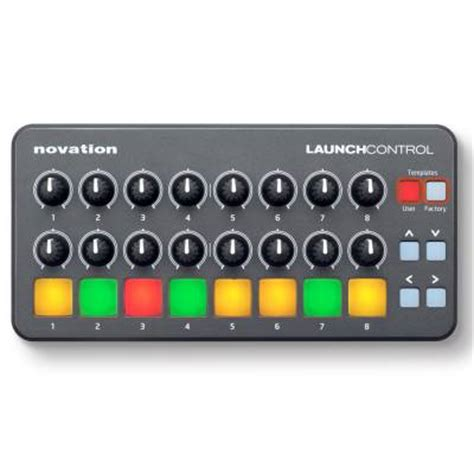 novation launch control midi controller for ipad, mac