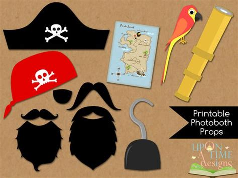 pirate photobooth props printable instant download pirate photobooth props printable instant download