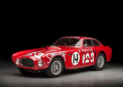 Lochkreis Ferrari by Just A Car Guy 1953 Ferrari 250 Mm Berlinetta And 1952