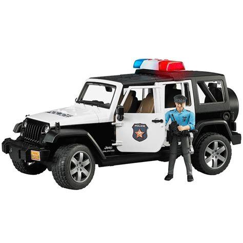 Bruder Jeep Bruder Jeep Wrangler U R Polis Aracı Ve Memur Loco Poco