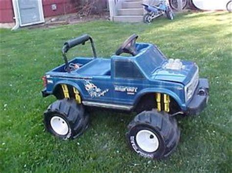 power wheels bigfoot monster truck battery powered ford bigfoot