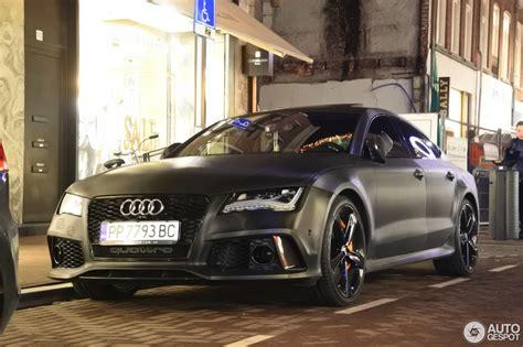Audi Rs7 Gewicht by Audi Rs7 Sportback 5 Januari 2017 Autogespot