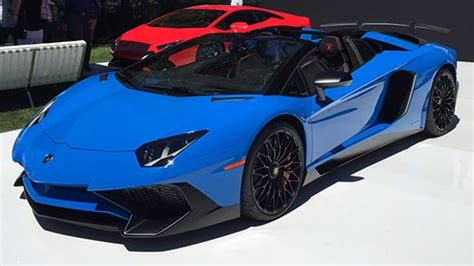 lamborghini aventador lp 750 4 superveloce roadster top speed lamborghini aventador lp 750 4 superveloce roadster our favorite cars from this year s pebble