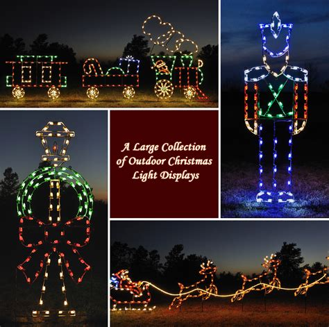 large christmas lights for yard a large collection of outdoor christmas light displays