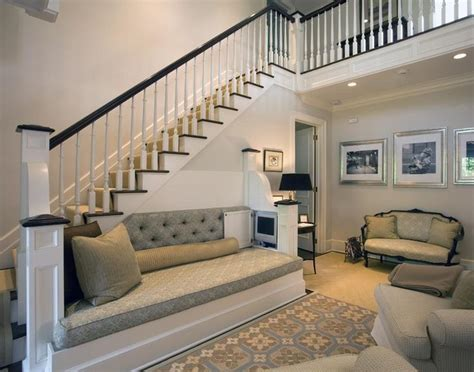 sofa under stairs 1000 images about creative decorating ideas on pinterest