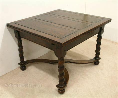 Pull Out Dining Table Oak Pull Out Dining Table Antiques Atlas