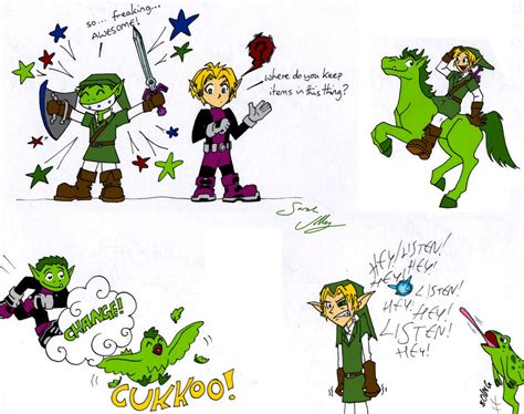 how to create a doodle link link and beastboy doodles by olafpriol on deviantart