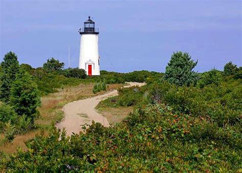 Chappaquiddick Lighthouse Cape Poge Lighthouse Massachusetts