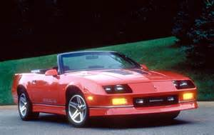 1990 chevrolet camaro pictures history value research