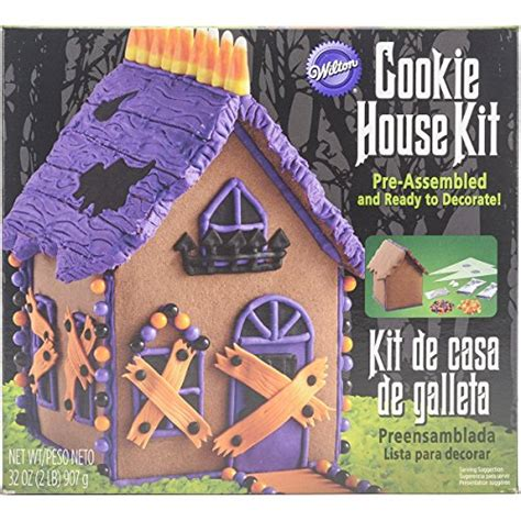 haunted gingerbread house kit wilton 2104 4326 haunted gingerbread house kit discontinued by manufacturer food