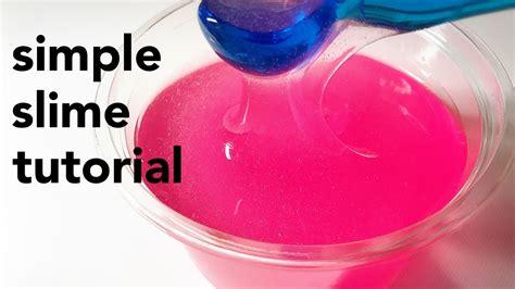 tutorial milky slime mw流 シンプルスライムの作り方 simple slime tutorial youtube