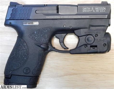 m p shield laser light combo armslist for sale smith wesson m p 9 shield w tlr 6 used