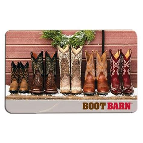 Boot Barn Gift Card - gift cards boot barn