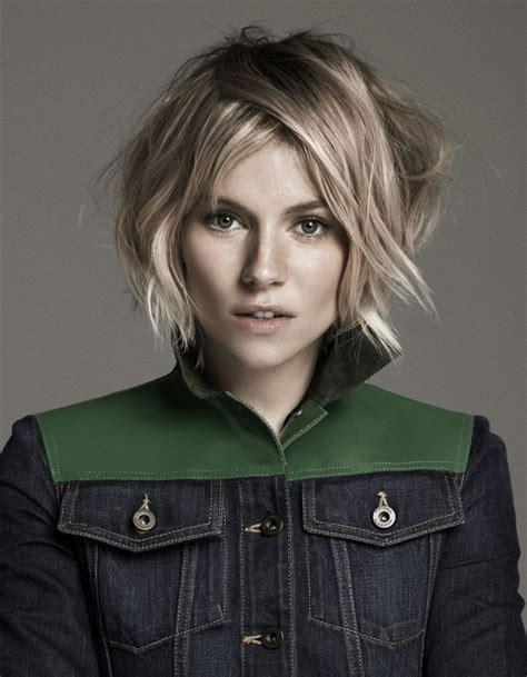 hair cut 2015 spring fashion sienna miller observer magazine january 2015 photos